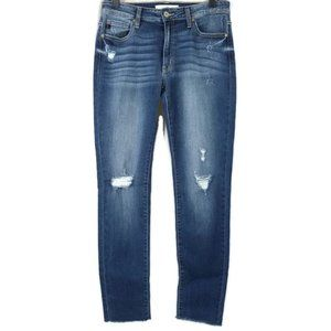 KanCan Jeans Estilo Ripped Destroyed Raw Edge Hem
